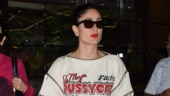 Kareena Kapoor Khan spotted at airport Photo: Yogen Shah