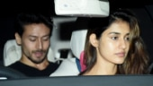 Disha Patani and Tiger Shroff stepped out for a romantic date last night.