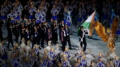 Javelin thrower Neeraj Chopra was India's flag bearer in the opening ceremony, with 568 athletes marching behind him.