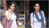 Janhvi Kapoor (L) and Sara Ali Khan
