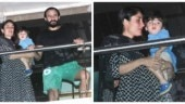 Saif Ali Khan, Kareena Kapoor and Taimur