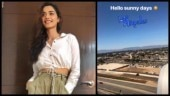 Manushi Chhillar is holidaying in Los Angeles