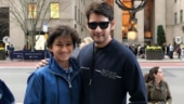Gautham and Mahesh Babu in New York