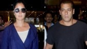 Salman and Katrina return to Mumbai