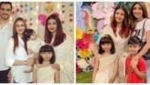 Aishwarya Rai Bachchan, Esha Deol, Radhya, Shilpa Shetty and Viaan