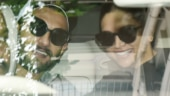Ranveer Singh and Deepika Padukone were snapped on a drive before their Bengaluru wedding reception on November 21