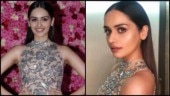 Miss World 2017 Manushi Chhillar looked breathtaking in a silver gown at Lux Golden Rose Awards 2018