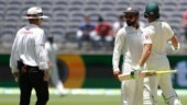 Virat Kohli and Tim Paine were involved in a heated exchange