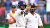Virat Kohli and Ajinkya Rahane hit half-centuries