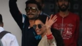 Ranveer Singh and Deepika Padukone were spotted at the Kalina airport.