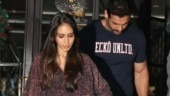 John Abraham and wife Priya Runchal on a dinner date