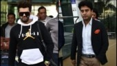 Manish Paul and Jyotiraditya Scindia in Udaipur.
