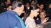 Ranveer Singh and Deepika Padukone arrive in Udaipur for Isha Ambani's pre-wedding festivities