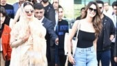 Rekha and Disha Patani arrive in Udaipur.