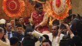 Ambani family all set to wlecome Isha Ambani's groom Anand Piramal.