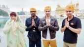 Varun Dhawan at Golden Temple