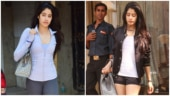 Janhvi Kapoor at gym Photo: Yogen Shah