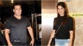 Salman Khan (L) and Jacqueline Fernandez