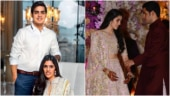 Shloka Mehta and Akash Ambani