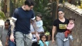 Sunny Leone on her day out with family Photo: Yogen Shah