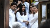 Abhishek Bachchan and Aishwarya Rai Bachchan with Kajol