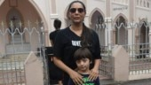 Gauri Khan and AbRam Khan