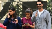 Arjun Rampal with daughters
