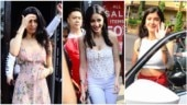 (L-R) Khushi Kapoor, Ananya Panday and Shanaya Kapoor