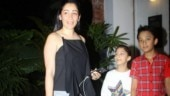 Maanayata Dutt with kids