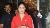 Kareena Kapoor after walking the ramp Photo: Yogen Shah