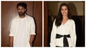 Prabhas and Shraddha Kapoor at Saaho promotions in Mumbai