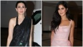 Karisma Kapoor and Katrina Kaif at Manish Malhotra afterparty Photo: Yogen Shah
