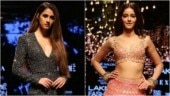 Disha Patani, Shahid Kapoor and Mira Rajput and Ananya Panday at Lakme Fashion Week