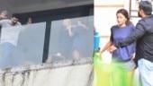 Alia Bhatt and Aditya Roy Kapur shoot for Sadak 2 with Mahesh Bhatt