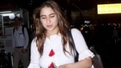 Sara Ali Khan at airport Photo: Yogen Shah