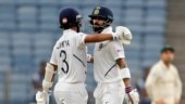India were 273 for 3 at stumps on Day 1 in Pune