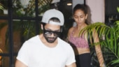 Mira Rajput and Shahid Kapoor at gym Photo: Yogen Shah