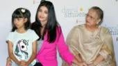 Aishwarya Rai Bachchan and Aaradhya Bachchan. pics: Yogen Shah