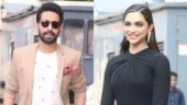Vikrant Massey and Deepika Padukone at Chhapaak trailer launch.