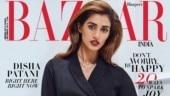 Disha Patani on Harper's Bazaar India cover