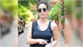 Yami Gautam snapped outside a gym (Photo: Yogen Shah)