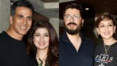 Akshay Kumar, Twinkle Khanna, Goldie Behl and Sonali Bendre. Photo: Yogen Shah