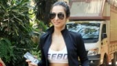 Malaika Arora at the gym Photo: Yogen Shah
