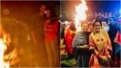 TV celebs celebrate Lohri in style