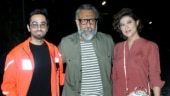 Ayushmann Khurrana and Tahira Kashyap with Anubhav Sinha.