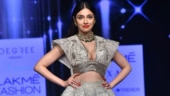 Divya Khosla Kumar at Lakme Fashion Week Photo: Yogen Shah
