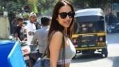 Malaika Arora snapped in Mumbai (Photo: Yogen Shah)