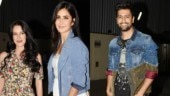 Katrina Kaif attended the special screening of Vicky Kaushal's Bhoot Part 1 with sister Isabelle