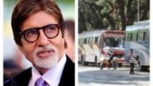 Amitabh Bachchan arranged for 10 buses to send migrant workers home.
