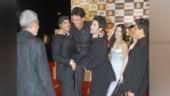 Arjun Rampal, Manoj Bajpayee and Ranbir Kapoor at Rajneeti Premiere in 2010.